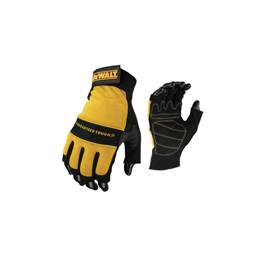 DPG23L    Padded Fingerless Gloves (Per/pair)