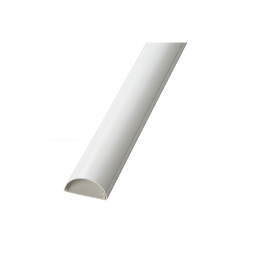 D-Line White 30mm x 15mm S/A Skirting Trunking (3m lgth)