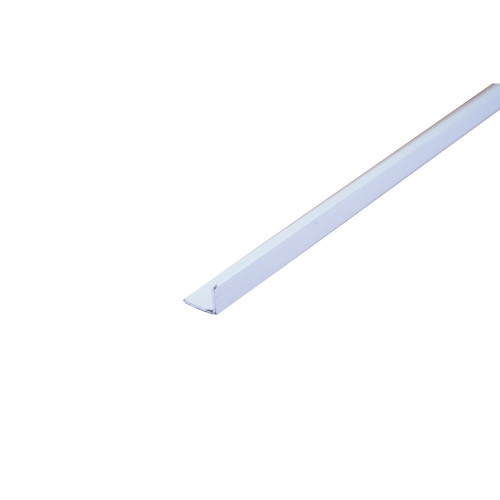 D-Line 3AD3015 1/2 Round Mini 30mm x 15mm 3m Plastic Trunking Self Adhesive Divider White