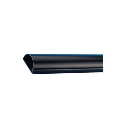 D-Line R3D5025B | D-Line Black 50mm x 25mm S/A Trunking, 3m, Saves channelling walls, Self-adhesive, can be drilled & screw-fixed