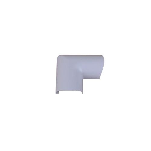 D-Line FLDB3015W | D-Line White Clip Over Door Top Bend 30mm x 15mm