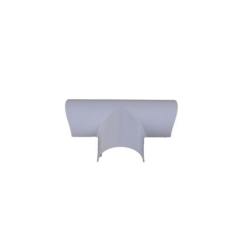 D-Line FLET3015W | D-Line White Clip Over Equal Tee 30mm x 15mm