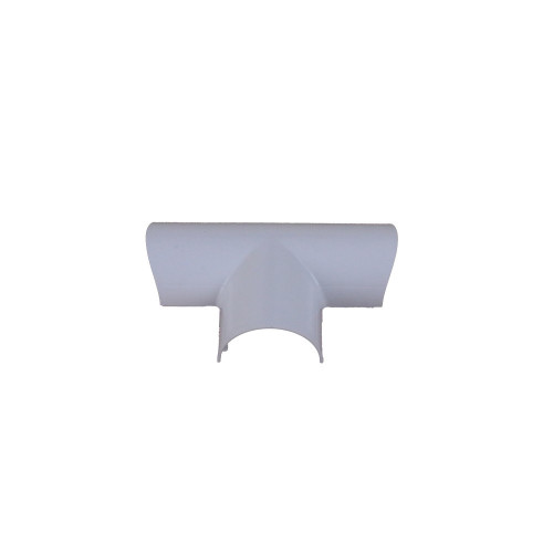 D-Line FLET3015W   D-Line White Clip Over Equal Tee 30mm x 15mm
