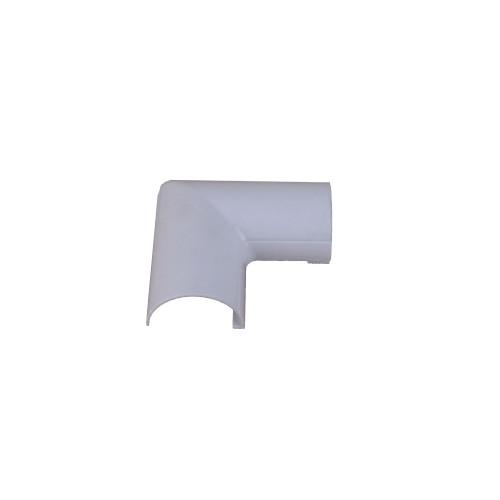 D-Line FLFB3015W | D-Line White Clip Over Flat Bend 30mm x 15mm