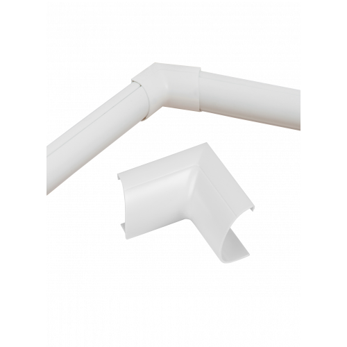 D-Line White Clip Over Internal Bend 30mm x 15mm (Each)