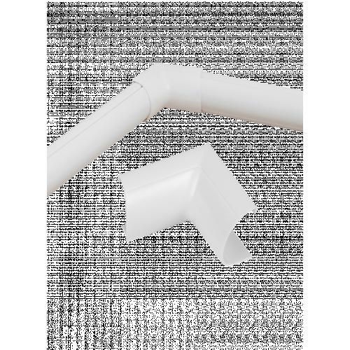 D-Line FLIB3015W   D-Line White Clip Over Internal Bend 30mm x 15mm