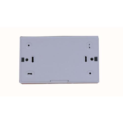 CMW Ltd TSB28W   D-Line White 28mm Double Gang Surface Box