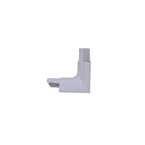 D-Line EC3015W | D-Line White Smooth Fit End Cap 30mm x 15mm