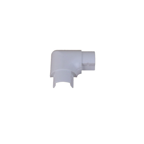 D-Line FB3015W | D-Line White Smooth Fit Flat Bend 30mm x 15mm
