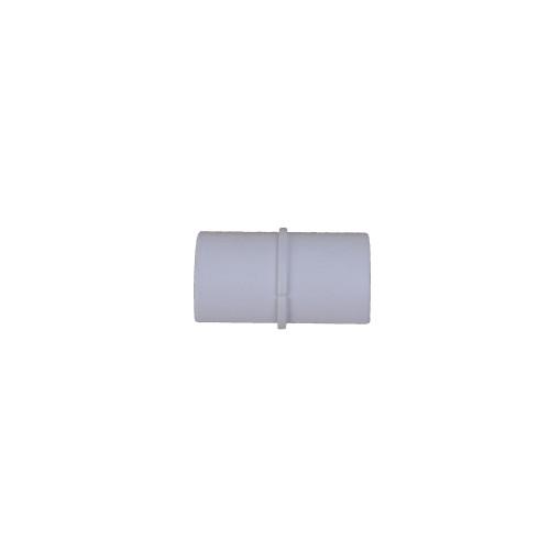 D-Line CP3015W | D-Line White Smooth Fit Plain Coupler 30mm x 15mm