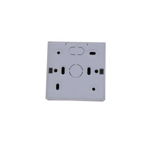 CMW Ltd SSB28W | D-Line White 28mm Single Gang Surface Box
