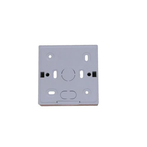 CMW Ltd SSB35W | D-Line White 35mm Single Gang Surface Box