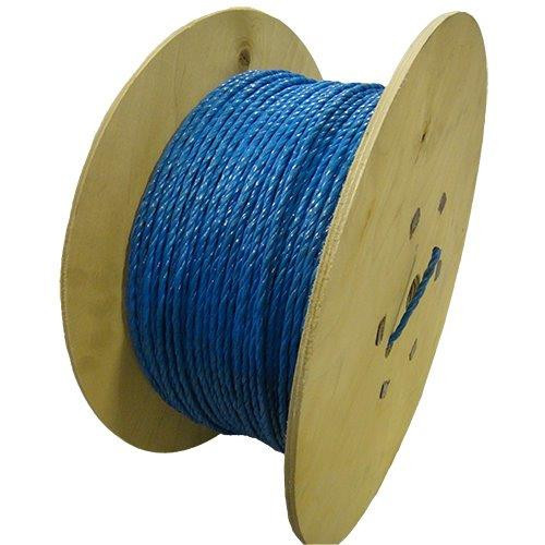 Timko Ltd  DRAWROPE-6-500M | 6mm Blue Polypropene Cable Draw Rope 500m (500 Metre)