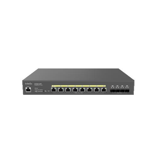 EnGenius ECS2512FP   EnGenius ECS2512FP Cloud Managed 2.5G Base-T 240W PoE++ 8 Port Network Switch