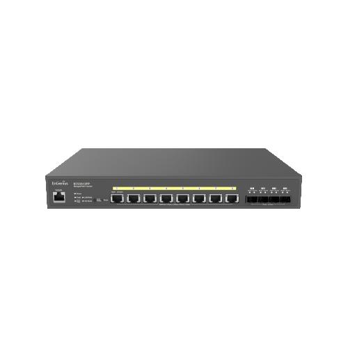 EnGenius ECS5512FP | EnGenius ECS5512FP Cloud Managed 8 Port 10G Base-T 420W PoE++ Network Switch