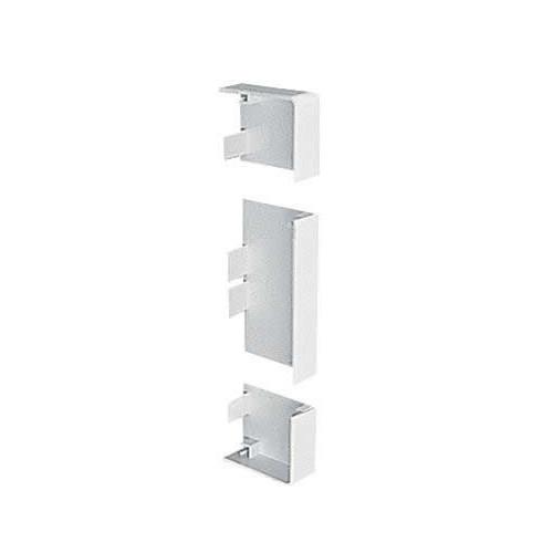 Marshall-Tufflex  EECP3WH | Marshall Tufflex Sterling Profile 3 3 Compartment Dado End Cap