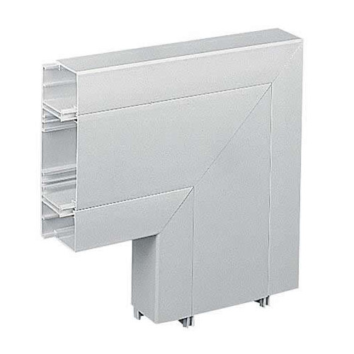 Marshall Tufflex PVC - U White Sterling Profile 3 3 Compartment Square Dado Flat Angle (Each)