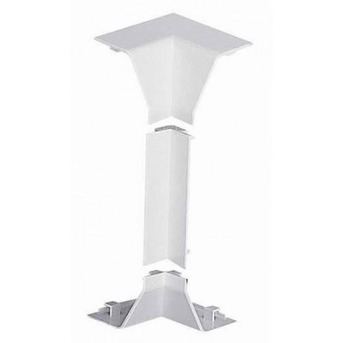 Marshall-Tufflex  EIBP1MWH | Marshall Tufflex PVC - U White Sterling Profile 1 Chamfered Dado Trunking Internal Angle