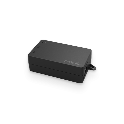 EnGenius EPA2410GP   EnGenius PoE adapter 1 port GbE 110~240VAC-in proprietary 24V/1.0A-out (Pin4-5:24V/pin7-8:return)