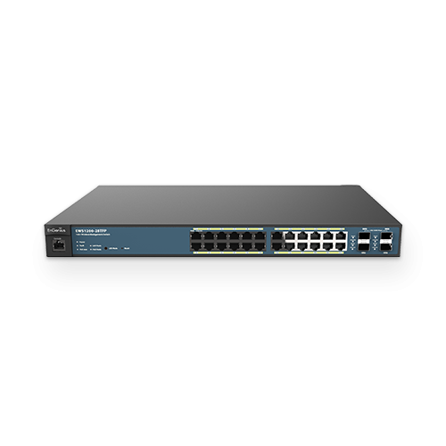 EnGenius EWS1200-28TFP | EnGenius EWS1200-28TFP 24-Port Managed Gigabit 410W PoE+ Network Switch