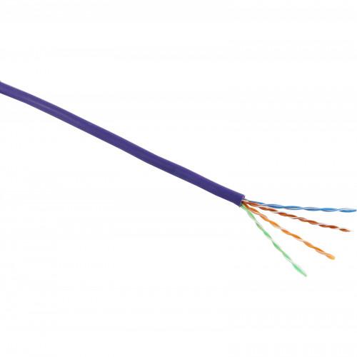 CMW Ltd  | Excel Cat5E 4 Pair UTP LSZH Violet 305m