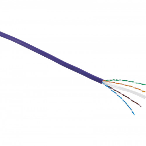 CMW Ltd  | Excel Cat 6 305m Cable LS0H Violet - 24 AWG