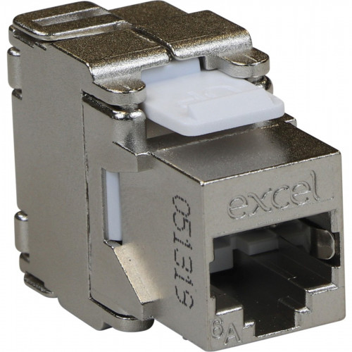 CMW Ltd  | EXCEL CAT6a FTP TOOLLESS JACK - BUTTERFLY STYLE