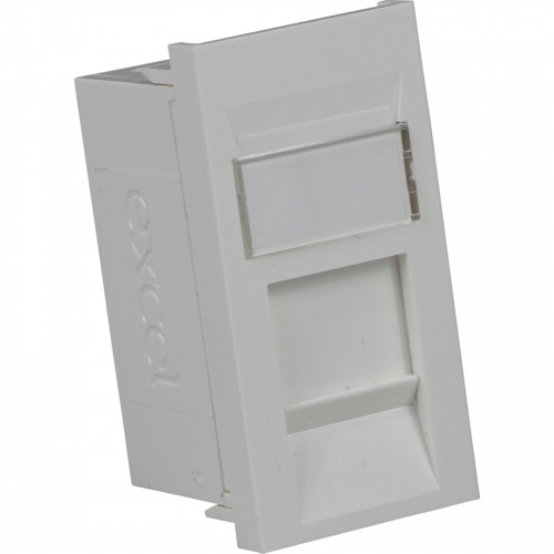 CMW Ltd  | Excel Cat 6 Euro Module - Deep White