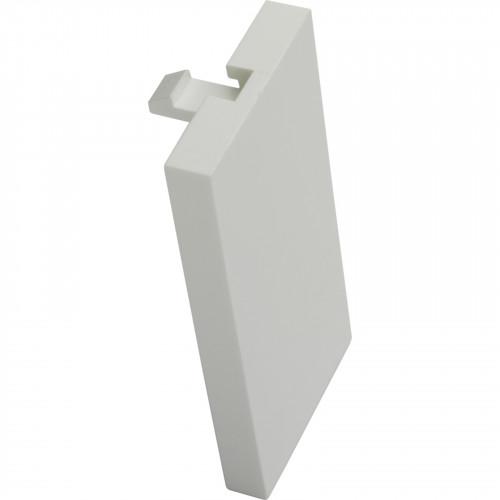 CMW Ltd    Excel 25mm Blank Plate White