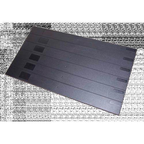 Black Eziblank Blanking Panels ( 6U Sheets ) (Pack / 10)