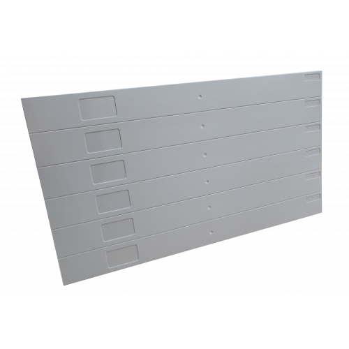 EZIBLANK -- | Grey Eziblank Blanking Panels ( 6U Sheets ) (Pack / 10)