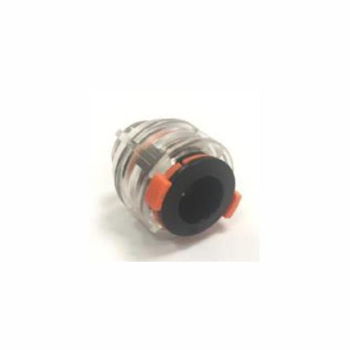 Straight Tube End Cap for Blown Fibre 12/8mm