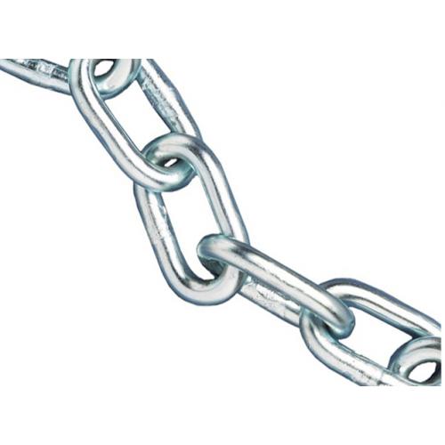 Faithfull 0   160kg Load Zinc Plated Chain 5.0mm (25m Reel)