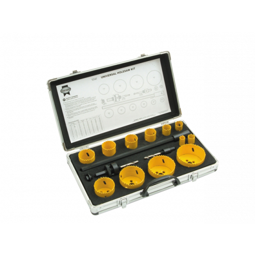Universal 16 Piece Holesaw Kit (Each)