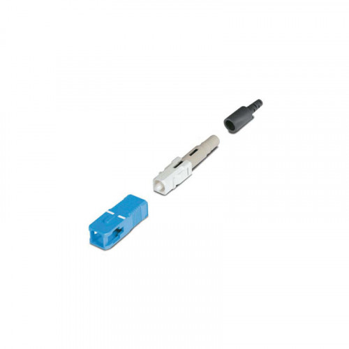 Fujikura FAST-SC-SM-UNI/00-BL/BK | FAST SC Connector, Singlemode, suitable for 250/900 micron  fibre - Pack of 10
