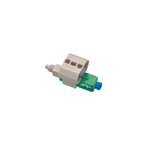 FAST LC Connector, Singlemode - APC, suitable for 250/900 micron fibre - Pack of 10 (Pack of 10)