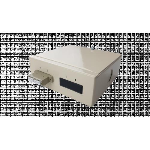 Multimode - 1 x LC Quad 4 Way Fibre box (Each)
