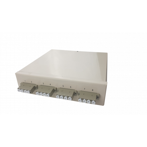 Multimode - 4 x LC Quad 16 Way Fibre box (Each)