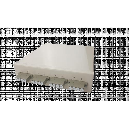 CMW Ltd Fibreoptic | Multimode - 4 x LC Quad 16 Way Fibre box