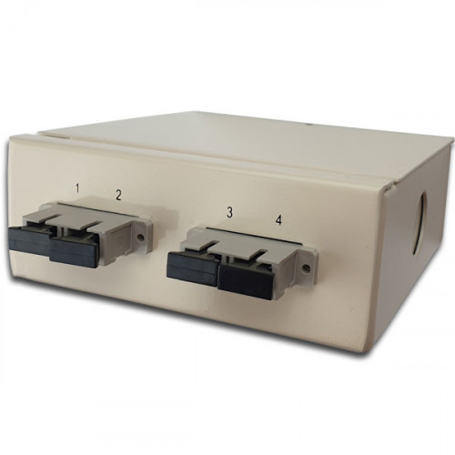 CMW Ltd  | Multimode - 2 x SC Duplex 4 Way Fibre box Small