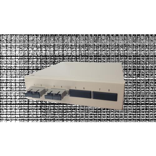 Multimode - 2 x SC Duplex 4 Way Fibre box (Each)