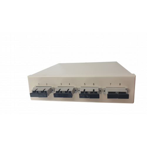 Multimode - 4 x SC Duplex 8 Way Fibre box (Each)