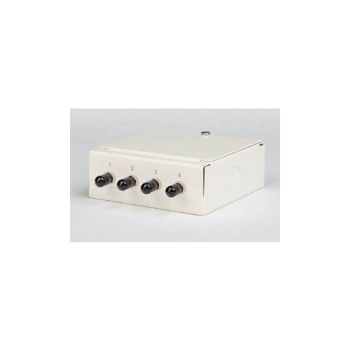 Multimode - 4 x ST Simplex 4 Way Fibre box (Each)
