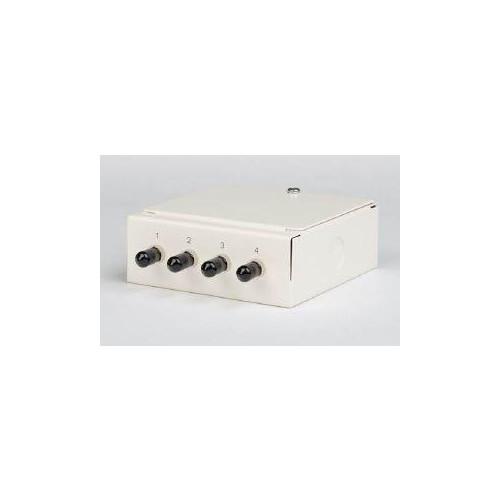CMW Ltd  | Multimode - 4 x ST Simplex 4 Way Fibre box
