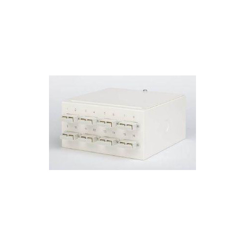 Multimode - 8 x SC Duplex 16 Way Fibre box (Each)