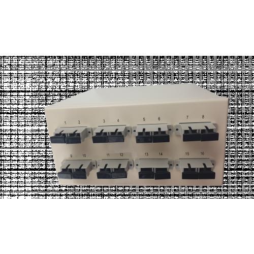 CMW Ltd  | Multimode - 8 x SC Duplex 16 Way Fibre box