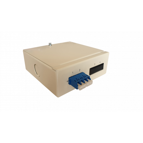 CMW Ltd  | Singlemode - 1 x LC Quad 4 Way Fibre Wall Mount Breakout Box