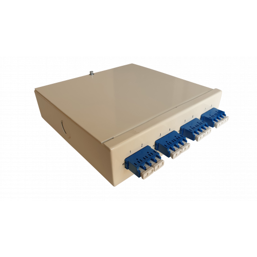 CMW Ltd  | Singlemode - 4 x LC Quad 16 Way Fibre Wall Mount Breakout Box