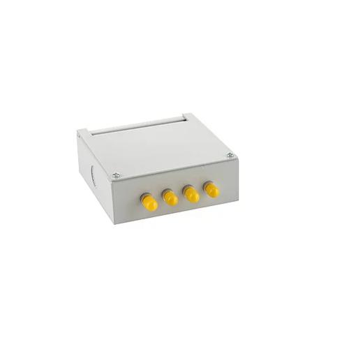 CMW Ltd  | Singlemode - 4 x ST Simplex 4 Way Fibre Wall Mount Breakout Box