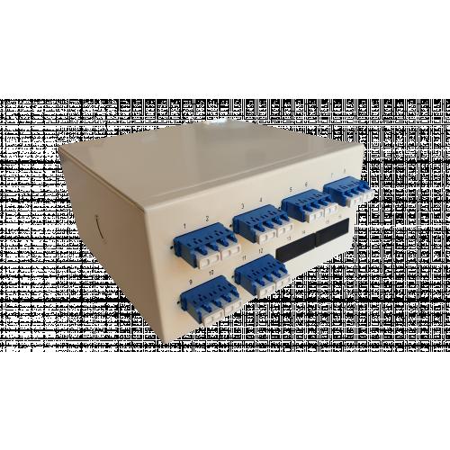 CMW Ltd  | Singlemode - 6 x LC Quad 24 Way Fibre Wall Mount Breakout Box